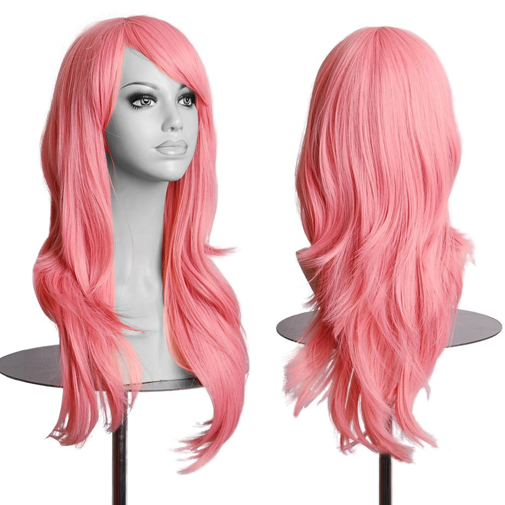 HANNE Black Heat Resistant Synthetic Hair Wigs For Black