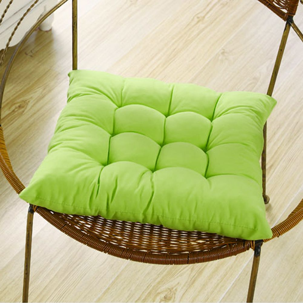 Dining Garden Office Chair Seat Pad Upholstery Foam Tie ...