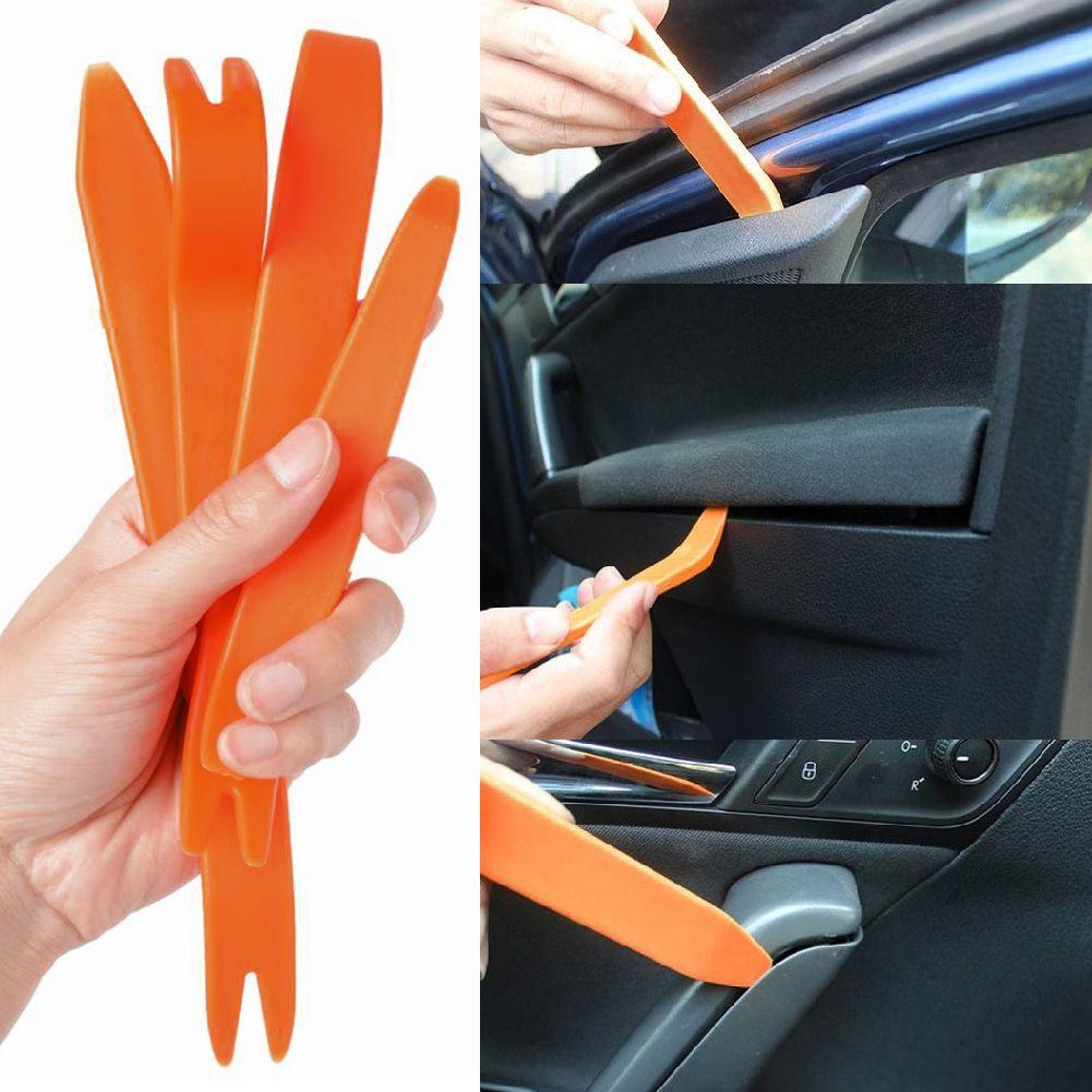 4pcs Car Radio Stereo Door Trim Panel Dash Installation Removal Refit Pry Tools Ebay