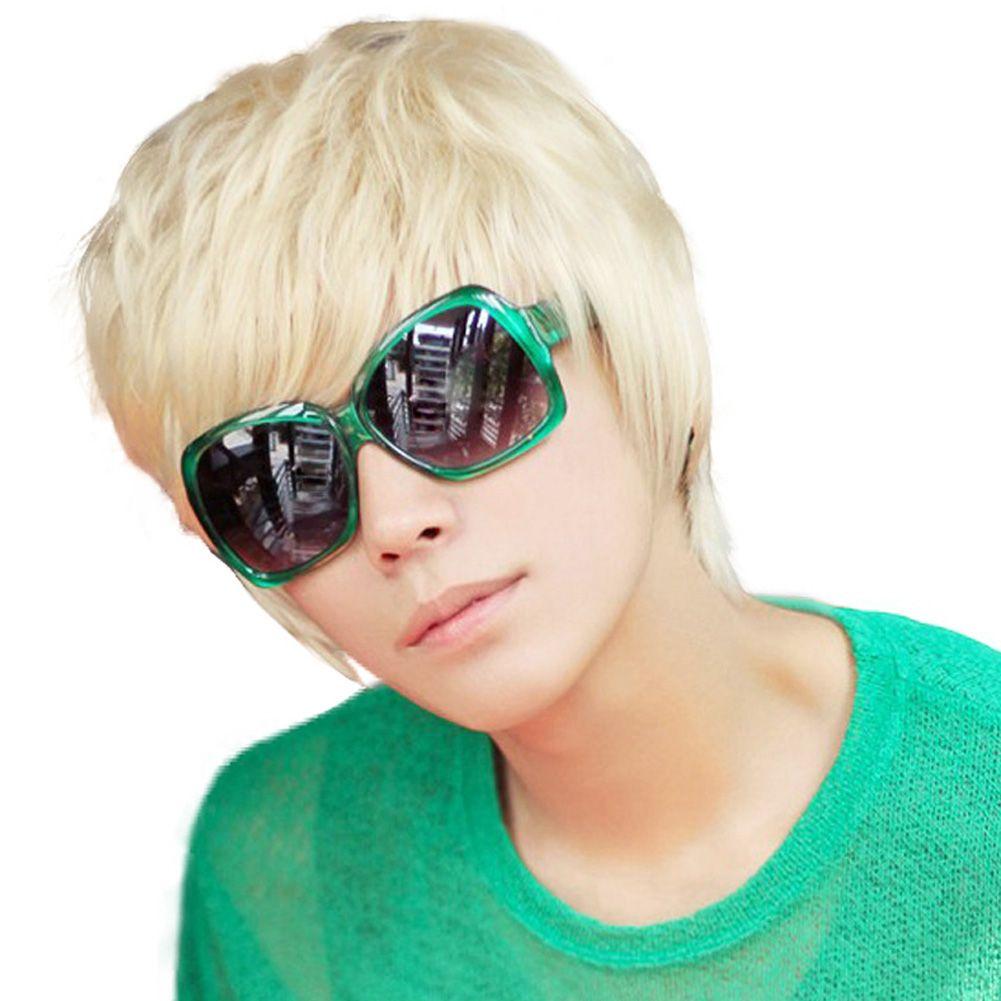 201509: Fashion Cool Boys Korean Hair Wig Mens Male Short Hair